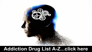Addiction Drug List A to Z