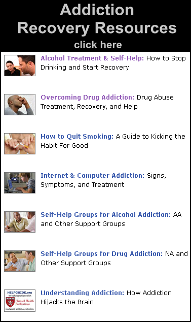 Click Here To Learn More About Addictions from HelpGuide